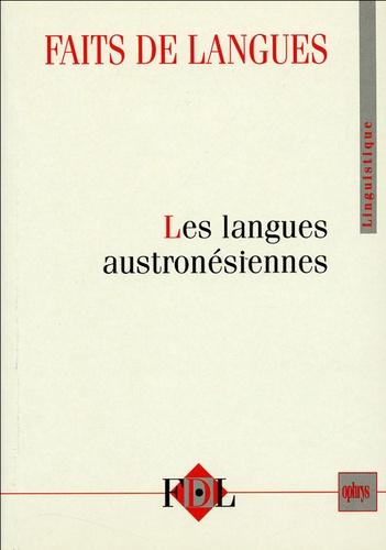 Elizabeth Zeitoun - Faits de langues N° 23-24 : Les langues austronésiennes.