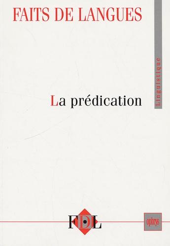 Jean-Marie Merle - Faits de langues N° 31-32 : La prédication.