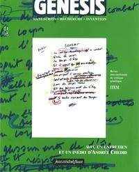 Andrea Del Lungo et Emmanuel Delaplanche - Genesis N° 21/03 : .