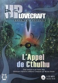 H. P. Lovecraft - L'Appel de Cthulhu. 1 CD audio MP3