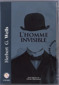 Herbert George Wells - L'homme invisible. 1 CD audio MP3