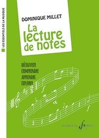 Dominique Millet - La lecture de notes.