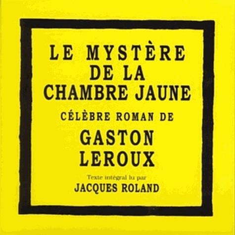 Le mystère de la chambre jaune  avec 8 CD audio