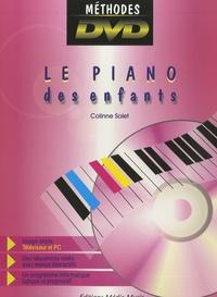 Colinne Solet et Francis Durand - Le Piano des Enfants. 1 DVD