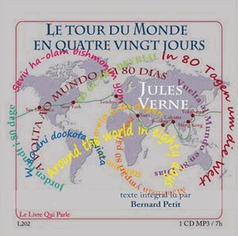 Le tour du monde en quatre vingt jours  avec 1 CD audio