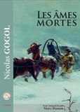 Nicolas Gogol - Les âmes mortes. 2 CD audio MP3