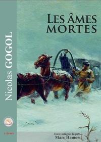 Nicolas Gogol - Les âmes mortes. 2 CD audio MP3