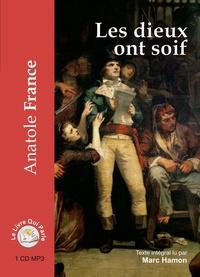 Anatole France - Les dieux ont soif. 1 CD audio MP3