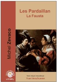 Michel Zévaco - Les Pardaillan  : La Fausta. 2 CD audio MP3