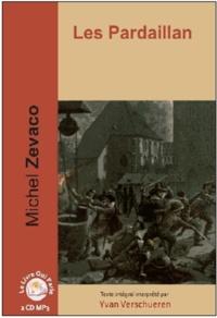 Michel Zévaco - Les Pardaillan Tome 1 : Les Pardaillan. 2 CD audio MP3