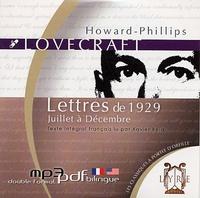 H. P. Lovecraft - Lettres de 1929 Juillet à Décembre - CD Audio.