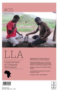LLACAN - Linguistique et langues africaines N° 5, juin 2019 : .