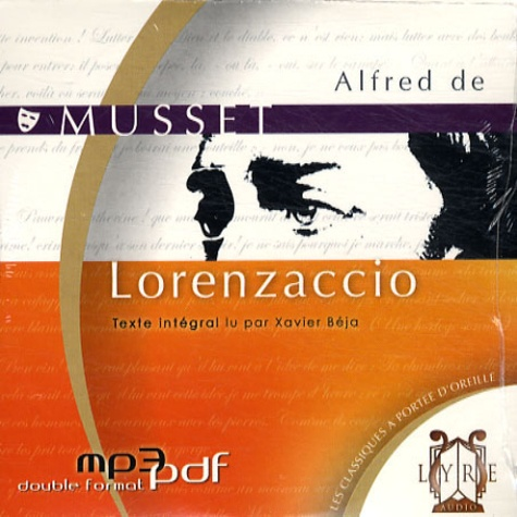 Lorenzaccio  avec 1 CD audio MP3