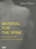 Steve Paxton - Material for the Spine - Une étude du mouvement. 1 DVD