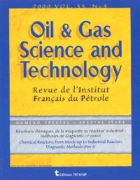 Régis Pelet - Oil & Gas Science and Technology Volume 55, Juillet-A : Réacteurs chimiques, de la maquette au récteur industriel : méthodes de diagnostic (2e partie) - N°4.