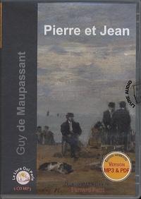 Guy de Maupassant - Pierre et Jean. 1 CD audio MP3