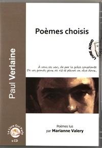 Paul Verlaine - Poèmes choisis. 1 CD audio