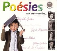 Marie-Laurence Bunel et Delphine Rich - Poésies pour petites oreilles... - Volume 1.