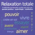 John Mac - Relaxation totale. 1 CD audio MP3