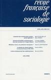 Jean Stoetzel - Revue française de sociologie N° 50-2, Avril-Juin : .
