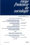 Gilles Bastin et Bruno Cautrès - Revue française de sociologie N° 52-4, Octobre-Déc : .