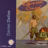 Daniel Defoe - Robinson Crusoé. 1 CD audio MP3