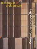 Jean-François Pousse - Techniques & Architecture N° 492, Octobre-nove : Céramiques prospective - Ceramic mutation.