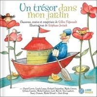 Gilles Vigneault - Un trésor dans mon jardin - Livre Disque.