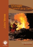 Jules Verne - Voyage au centre de la Terre. 1 CD audio MP3