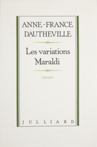 Dauth et  Dautheville - Les Variations Maraldi.