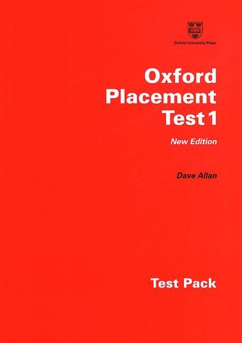 Oxford placement Test 1 Pack 2 volumes : Listening Test et Grammar Test