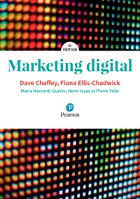 Dave Chaffey et Fiona Ellis-Chadwick - Marketing digital.