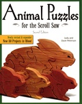 Dave Peterson et Judy Peterson - Animal Puzzles for the Scroll Saw.