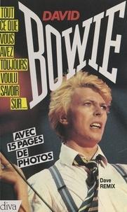 Dave Remix et Claude Gassian - David Bowie.