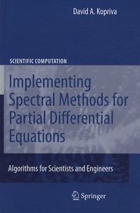 Ucareoutplacement.be Implementing Spectral Methods for Partial Differential Equations Image