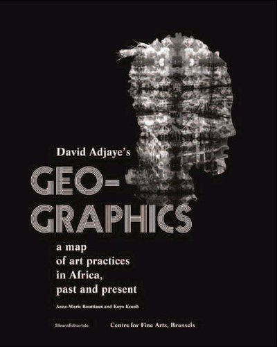 David Adjaye - Geo-graphics - A map of art practices in Africa, past and present.