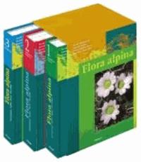 David Aeschimann et Konrad Lauber - Flora alpina - Ein Atlas sämtlicher 4500 Gefässpflanzen der Alpen.