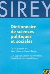 David Alcaud et Laurent Bouvet - Dictionnaire des sciences politiques et sociales.
