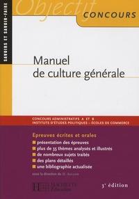 David Alcaud et Bruno Bachini - Manuel de culture générale.