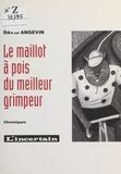 David Angevin - Le Maillot à pois du meilleur grimpeur.