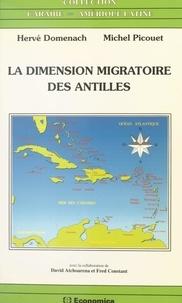 David Atchoarena et Fred Constant - La dimension migratoire des Antilles.