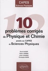 Galabria.be 10 Problèmes corrigés de physique et chimie posés au CAPES de sciences physiques Image