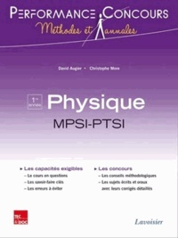David Augier et Christophe More - Physique 1re année MPSI-PTSI.