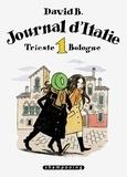 David B. - Journal d'Italie Tome 1 : Trieste Bologne.