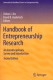 David B Audretsch et Zoltan J Acs - Handbook of Entrepreneurship Research - An Interdisciplinary Survey and Introduction.