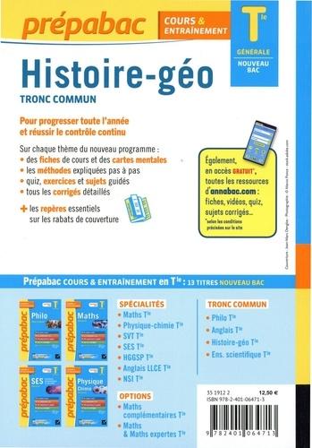 Histoire-Géographie tronc commun Tle générale  Edition 2020