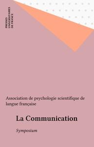 David Bélanger - La Communication - Symposium, Montréal, 1983.