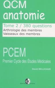 QCM anatomie. - Tome 2, Arthrologie des membres, vaisseaux des membres, 380 questions.pdf