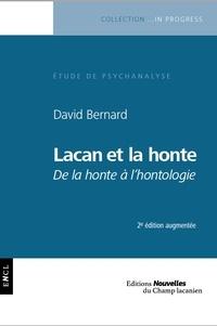 David Bernard - Lacan et la honte - De la honte à l'ontologie.