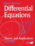 David Betounes - Differential Equations : Theory and Applications with Maple. - CD-ROM included.